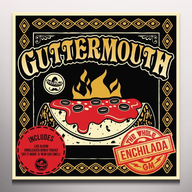 Guttermouth WHOLE ENCHILADA Vinyl Record