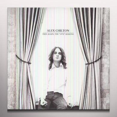 Alex Chilton FREE AGAIN: THE 1970 SESSIONS Vinyl Record - Colored Vinyl