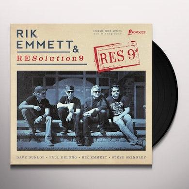 Rik Emmett & Resolution 9 RES9 Vinyl Record