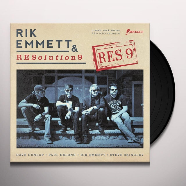 Rik Emmett & Resolution 9