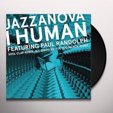 Jazzanova I HUMAN FEAT. PAUL RANDOLPH REMIXES 1 Vinyl Record