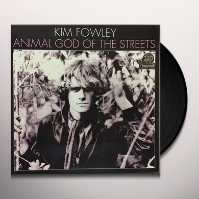 Kim Fowley LIVING IN THE STREETS Vinyl Record