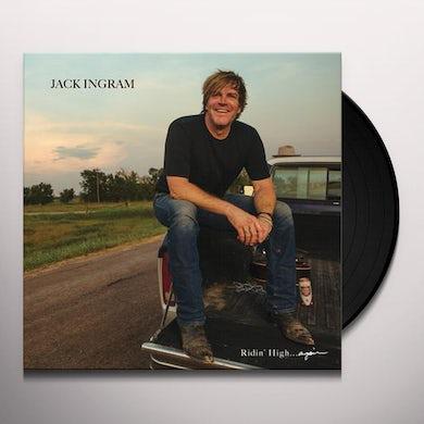 Jack Ingram Ridin' High Again Vinyl Record