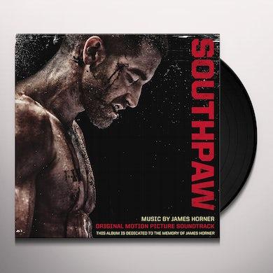 James Horner SOUTHPAW / Original Soundtrack Vinyl Record