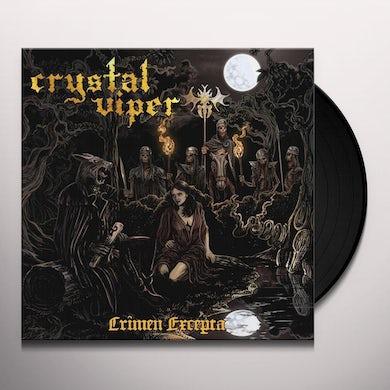 Crystal Viper CRIMEN EXCEPTA Vinyl Record