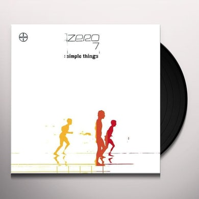 Zero 7 SIMPLE THINGS Vinyl Record