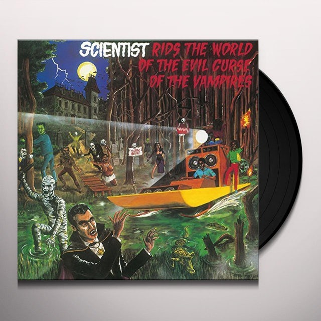 Scientist RIDS THE WORLD OF THE EVIL CURSE OF THE VAMPIRES Vinyl Record