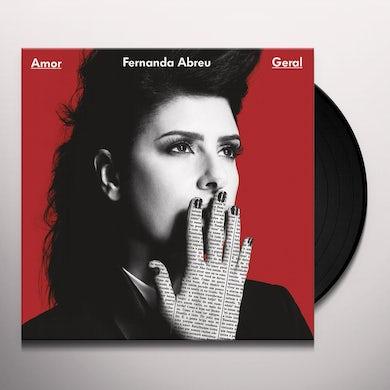 Fernanda Abreu AMOR GERAL Vinyl Record