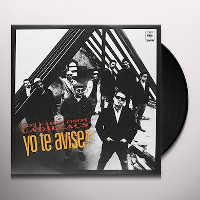 YO TE AVISE Vinyl Record