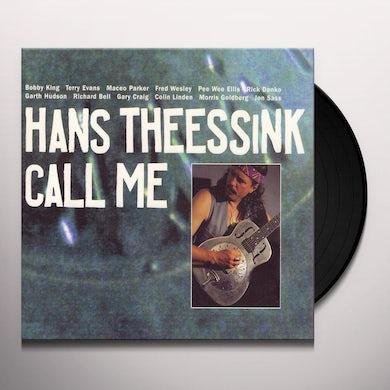 Hans Theessink CALL ME Vinyl Record