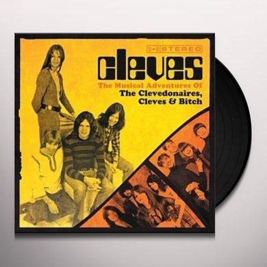 MUSICAL ADVENTURES OF CLEVEDONAIRES THE CLEVES & Vinyl Record