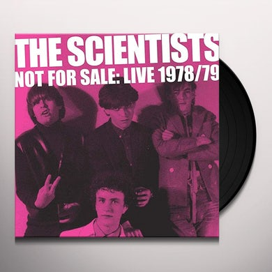 The Scientists NOT FOR SALE: LIVE '78/'79 Vinyl Record