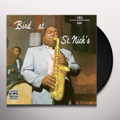 Charlie Parker BIRD AT ST. NICKS Vinyl Record