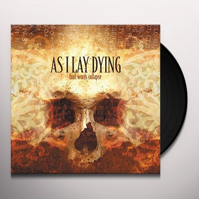 As I Lay Dying FRAIL WORDS COLLAPSE Vinyl Record