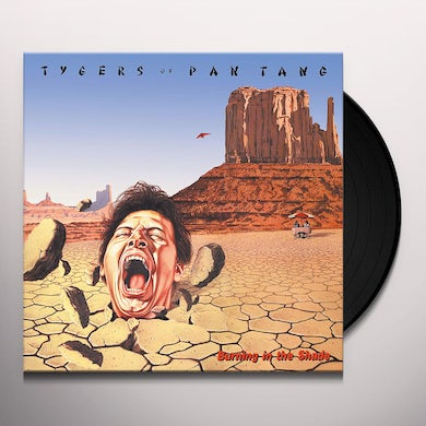 Tygers Of Pan Tang Burning In The Shade Vinyl Record