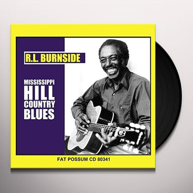 MISSISSIPPI HILL COUNTRY BLUES Vinyl Record
