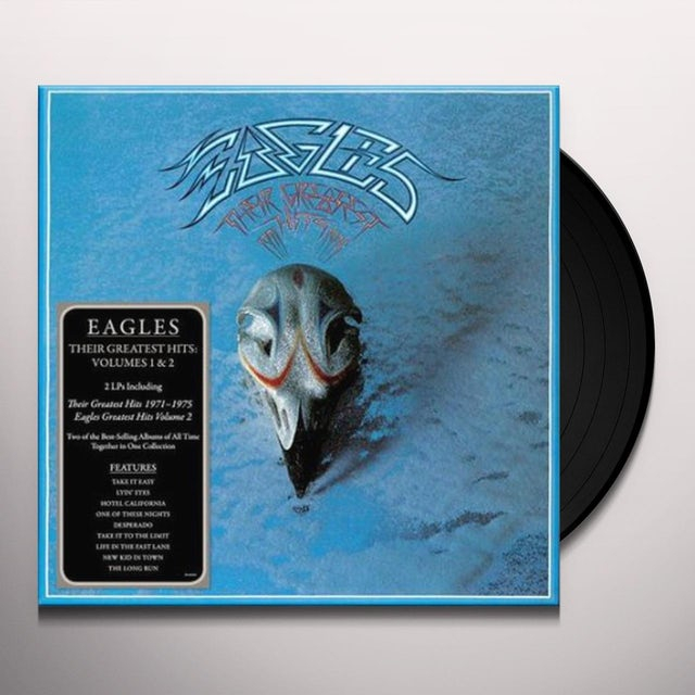 Eagles THEIR GREATEST HITS 1 & 2 Vinyl Record