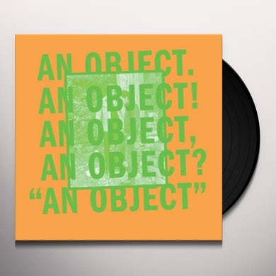 No Age AN OBJECT Vinyl Record