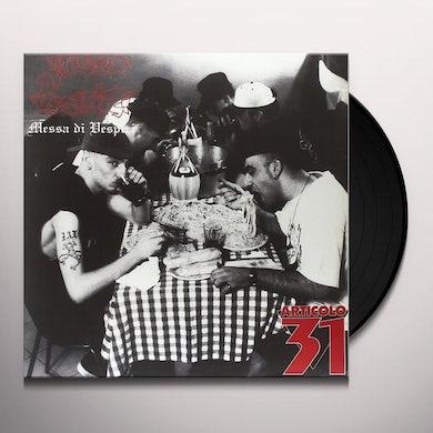 Articolo 31 MESSA DI VESPIRI Vinyl Record