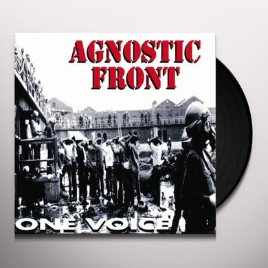 Agnostic Front ONE VOICE Vinyl Record