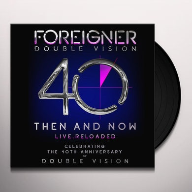 Foreigner DOUBLE VISION: THEN AND NOW Vinyl Record