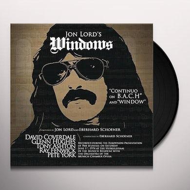 Jon Lord WINDOWS Vinyl Record
