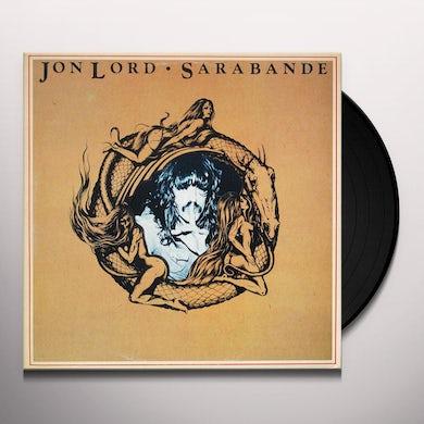 Jon Lord SARABANDE Vinyl Record