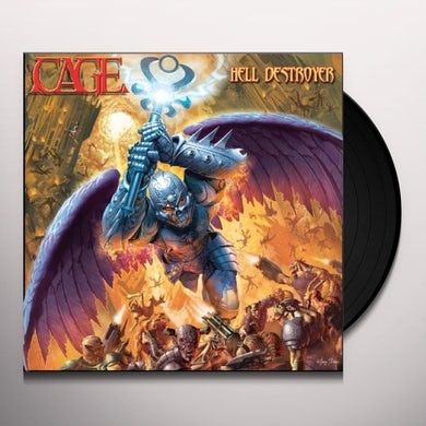 Cage HELL DESTROYER Vinyl Record