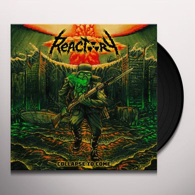 Reactory COLLAPSE TO COME Vinyl Record