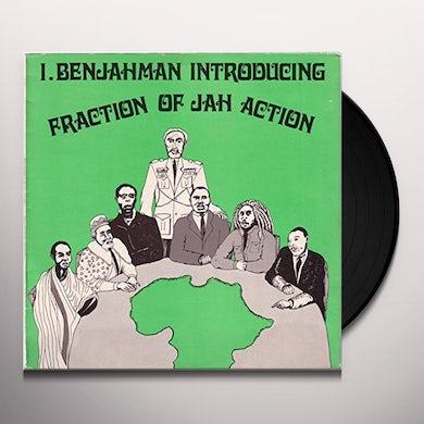 I. Benjahman FRACTION OF JAH ACTION Vinyl Record
