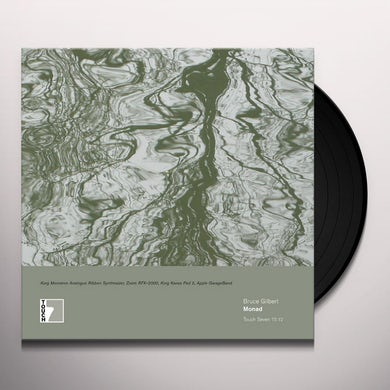 Bruce Gilbert MONAD Vinyl Record