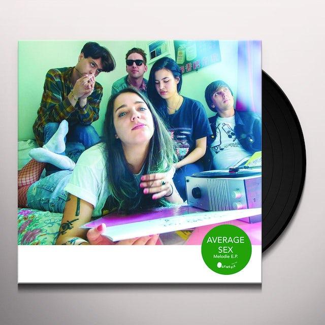Average Sex MELODIE Vinyl Record