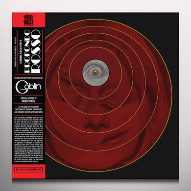 Goblin PROFONDO ROSSO (ORIGINAL SOUNDTRACK) - Limited Edition Colored Double Vinyl Record