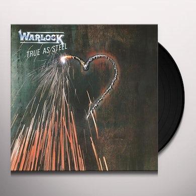 Warlock TRUE AS STEEL Vinyl Record