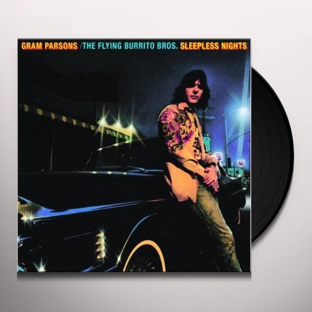 Gram Parsons SLEEPNESS NIGHTS Vinyl Record