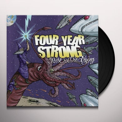Four Year Strong RISE OR DIE TRYING (10 YEAR ANNIVERSARY) Vinyl Record