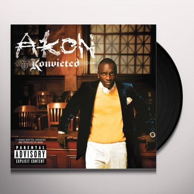 Akon KONVICTED Vinyl Record