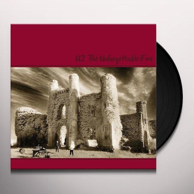 U2 UNFORGETTABLE FIRE Vinyl Record