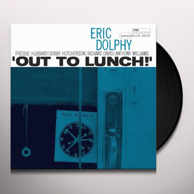 Eric Dolphy OUT TO LUNCH Vinyl Record
