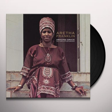 Aretha Franklin   AMAZING GRACE: THE COMPLETE RECORDINGS Vinyl Record