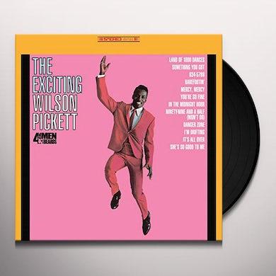 EXCITING WILSON PICKETT Vinyl Record