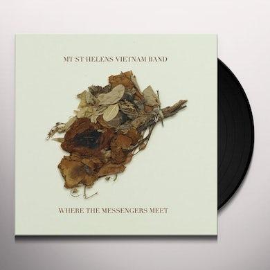 Mt St Helens Vietnam Band WHERE THE MESSENGERS MEET Vinyl Record