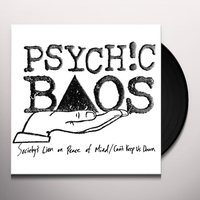 PSYCHIC BAOS SOCIETY'S LIEN ON PEACE OF MIND / CAN'T KEEP US Vinyl Record