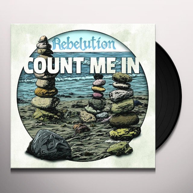 Rebelution COUNT ME IN Vinyl Record