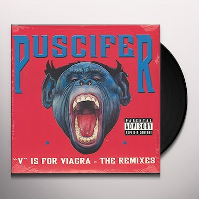 Puscifer V IS FOR VIAGRA: THE REMIXES Vinyl Record