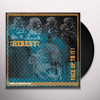 Heresy FACE UP TO IT: 30TH ANNIVERSARY EDITION Vinyl Record