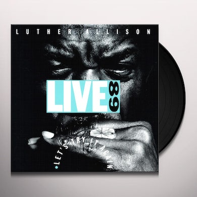 Luther Allison Live 89 Let's Try It Again Vinyl Record