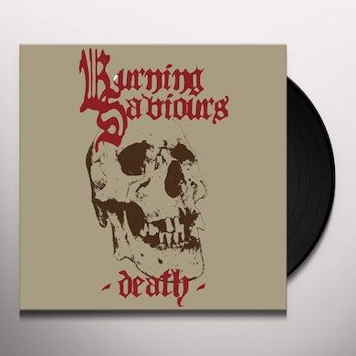Burning Saviours DEATH (RED VINYL) Vinyl Record