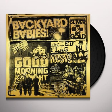 Backyard Babies SLIVER & GOLD Vinyl Record