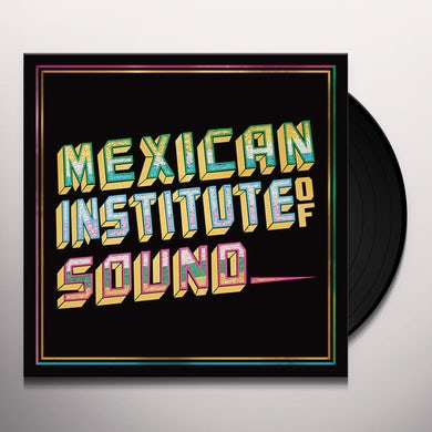 Mexican Institute Of Sound  DISCO POPULAR Vinyl Record